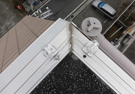 着地防止電気ショックシステム設置